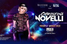 Live Arena Bagnkok - Christina Novelli, DJ, Thailand