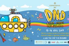 DND Bangkok - Water Circus The Submarine, Songkran, DJ, Thailand