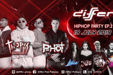 Differ Pub Pattaya - Hip Hop Party EP2, dj, thailand