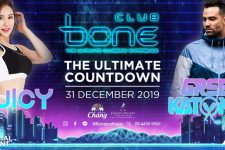 Bone Pattaya - Ultimate Countdown, dj, NYE 2020, Thailand