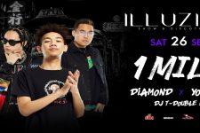 Illuzion Phuket - 1 Mill Diamond Youngu, dj, Party, Phuket, Thailand