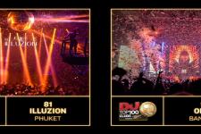 Thailand Clubs on DJ Mag Top 100 Clubs List 2017!