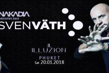 Nakadia Welcomes SVEN VÄTH to Illuzion Phuket!