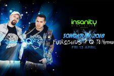 Insanity Nightclub Bangkok - Songkran 2018 Furoshus & Q Hypeman from LMFAO, DJ, Club, Thailand