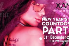 Xana Beach Club Phuket - Countdown Party