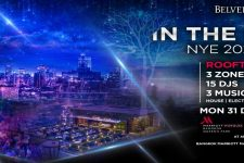 Marriot Bangkok - In the Sky NYE 2019 Rooftop Party, NYE 2019